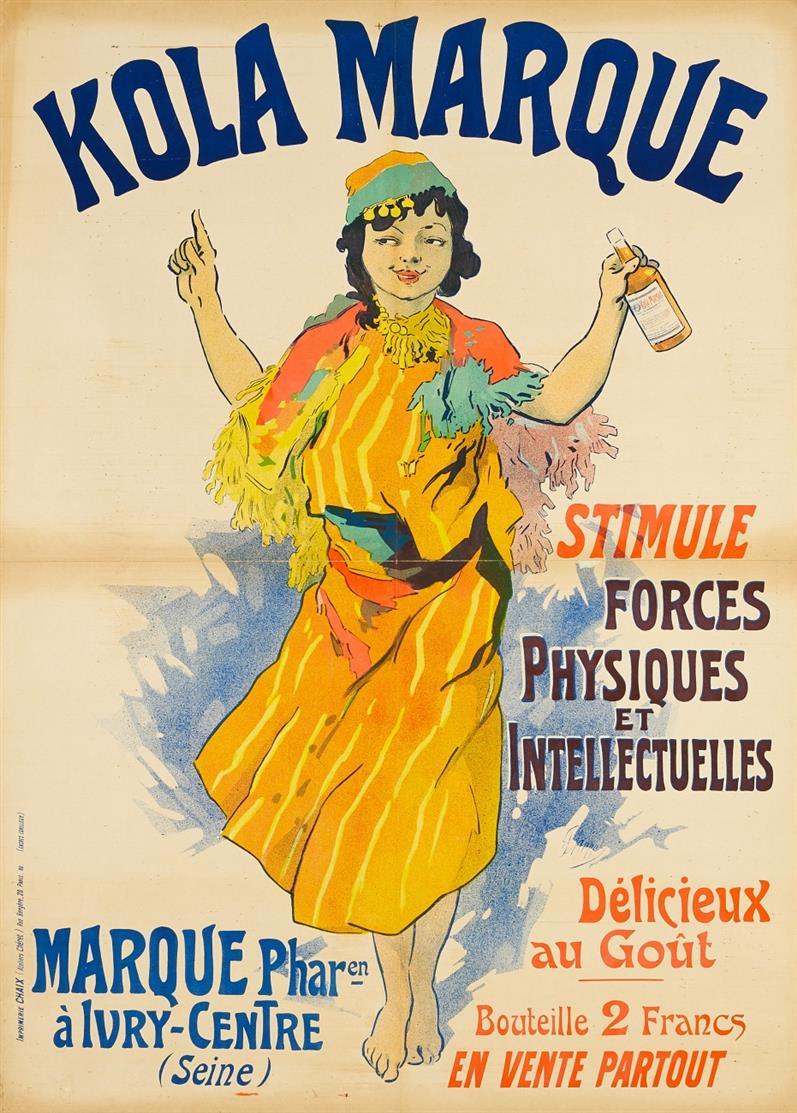 Jules Chéret. Kola Marque. 1900. Plakat.