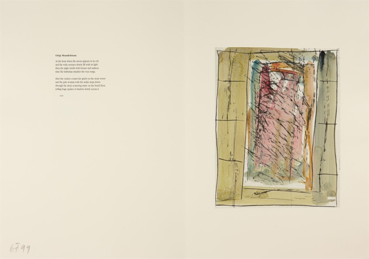 G. Förg / R. Fuchs,  Ground. Portfolio mit 20 monogr. Radierungen. 1999. - Ex. III/X