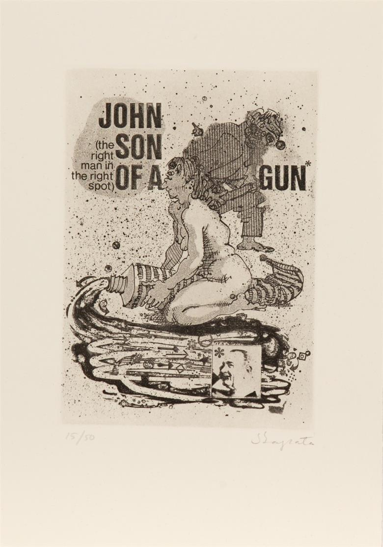 J. Zapata / A. Jouffrey,  Mutilantes y Mutilados. Genf 1973. - Ex. 15/50.