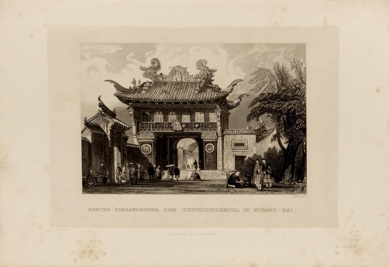G. N. Wright, China historisch, romantisch, malerisch. Karlsruhe 1843-44.