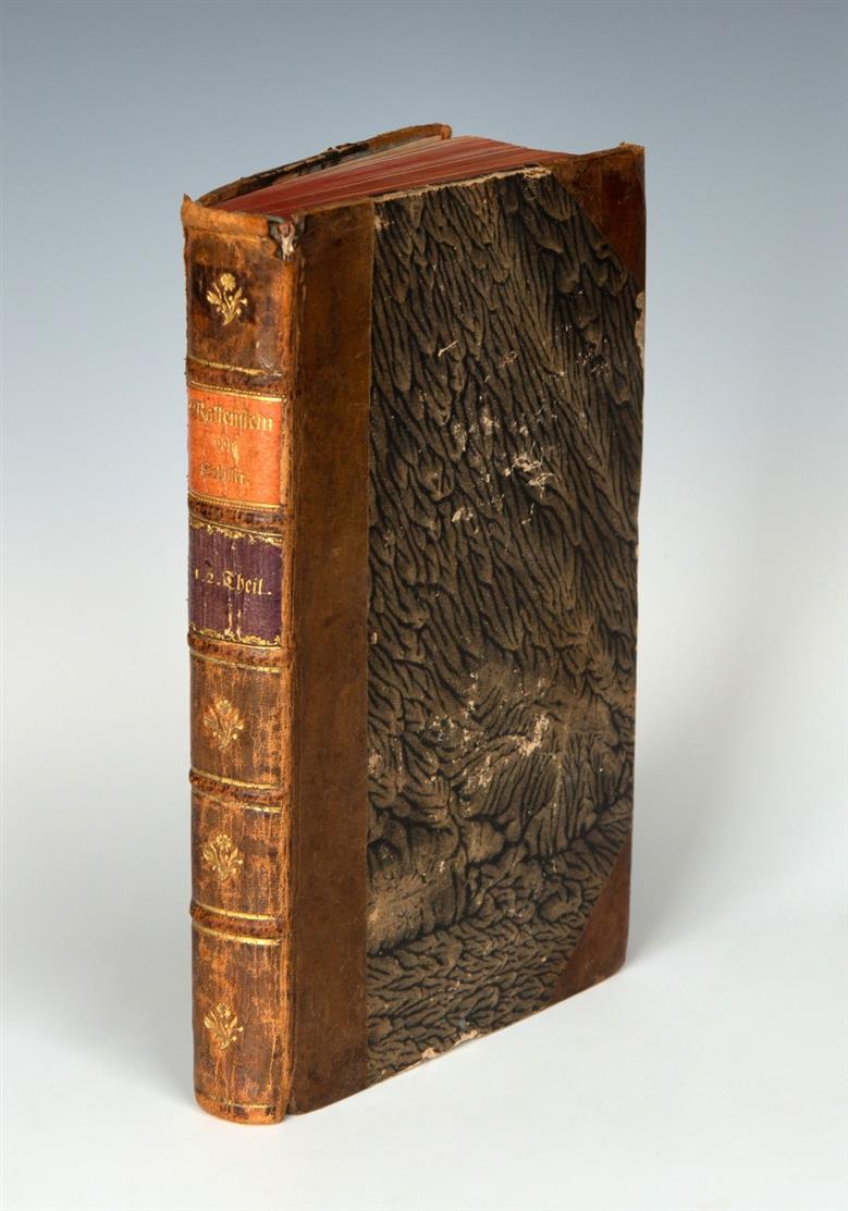 F. v. Schiller, Wallenstein. 2 Tle. in 1 Bd. Tübingen 1800.