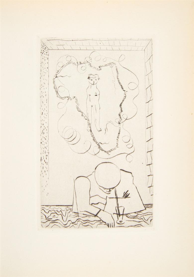 Ph. Soupault / J. Lurçat, Corps perdu. Paris 1926. - Nr.98 v.60 Ex. auf Hollande van Gelder mit Suite.