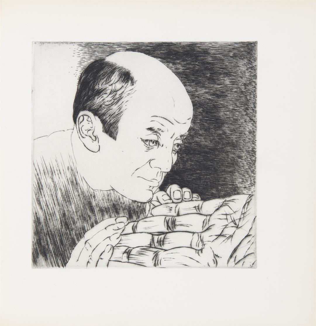 L. Marcoussis, Les Devins. 16 pointes sèches. Texte de G. Bachelard. Paris 1946. - Ex. 29/62.