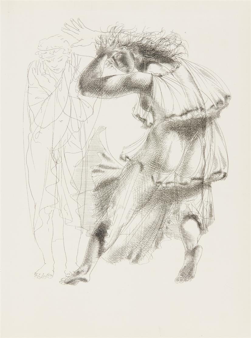Sophokles / H. Erni, Œdipe Roi. Lausanne 1946. - Ex. 105/189.