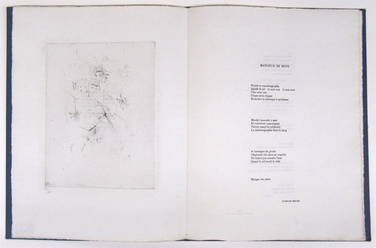 Wols u. C. Bryen, 2bis. Paris 1955. Ex. 23/75.
