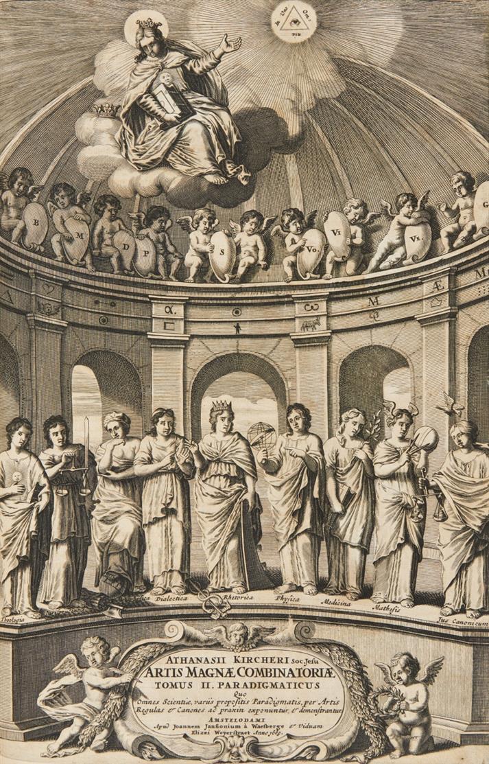 A. Kircher, Ars magna sciendi. Amsterdam 1669.