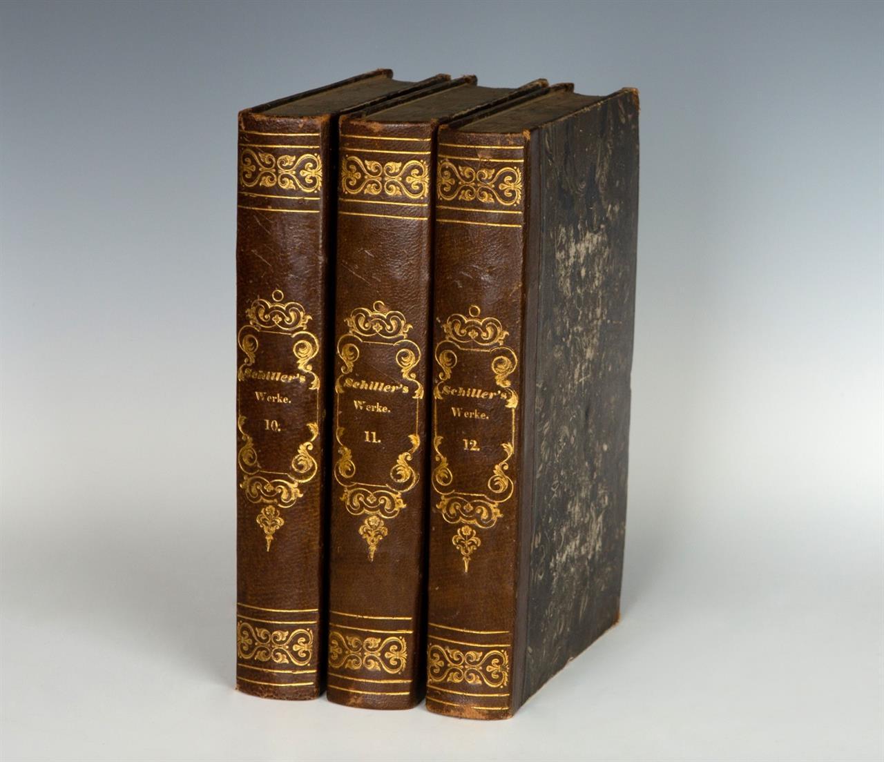 F. Schiller, Sämmtliche Werke. 12 Bde. Stgt. u. Tüb. 1835-1836.