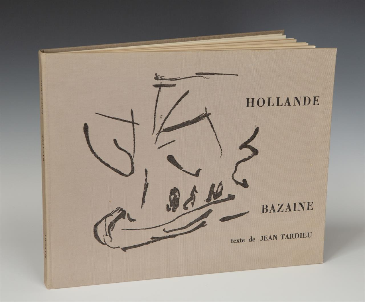 J. Bazaine / J. Tardieu, Hollande. Paris 1962. - Ex. 62/100.