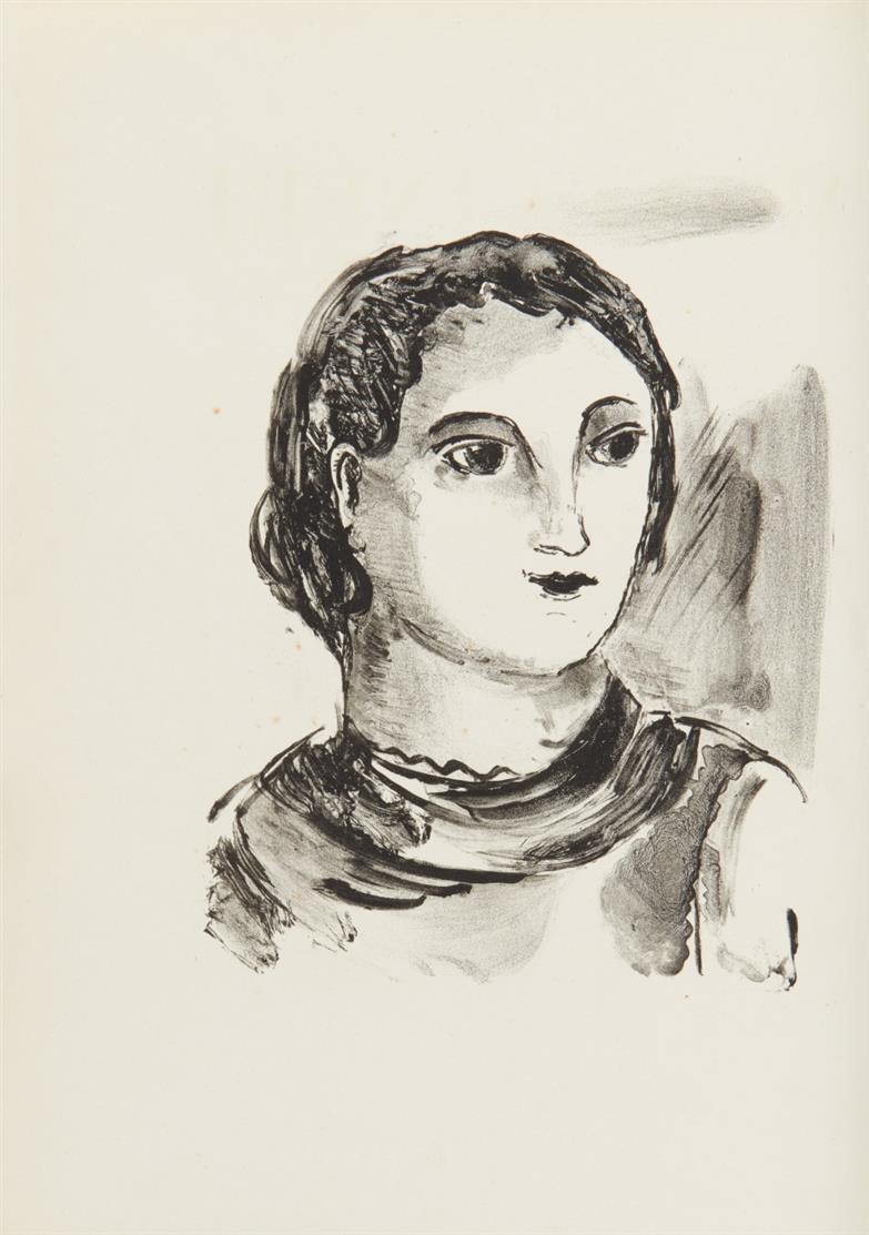 M. de Vlaminck / J. Green, Mont-Cinère. Paris 1930. - Ex. 59/280.