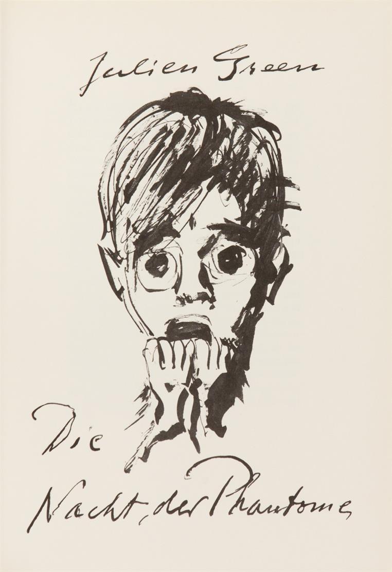 H. Fronius / J. Green, Die Nacht der Phantome. München 1975. - Ex. 45/180.
