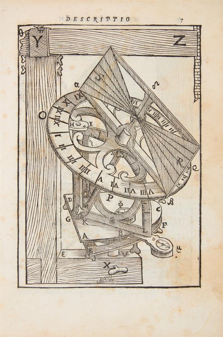 Ch. Clavius, Fabrica et usus instrumenti ad horologiorum descriptionem. Rom 1586.