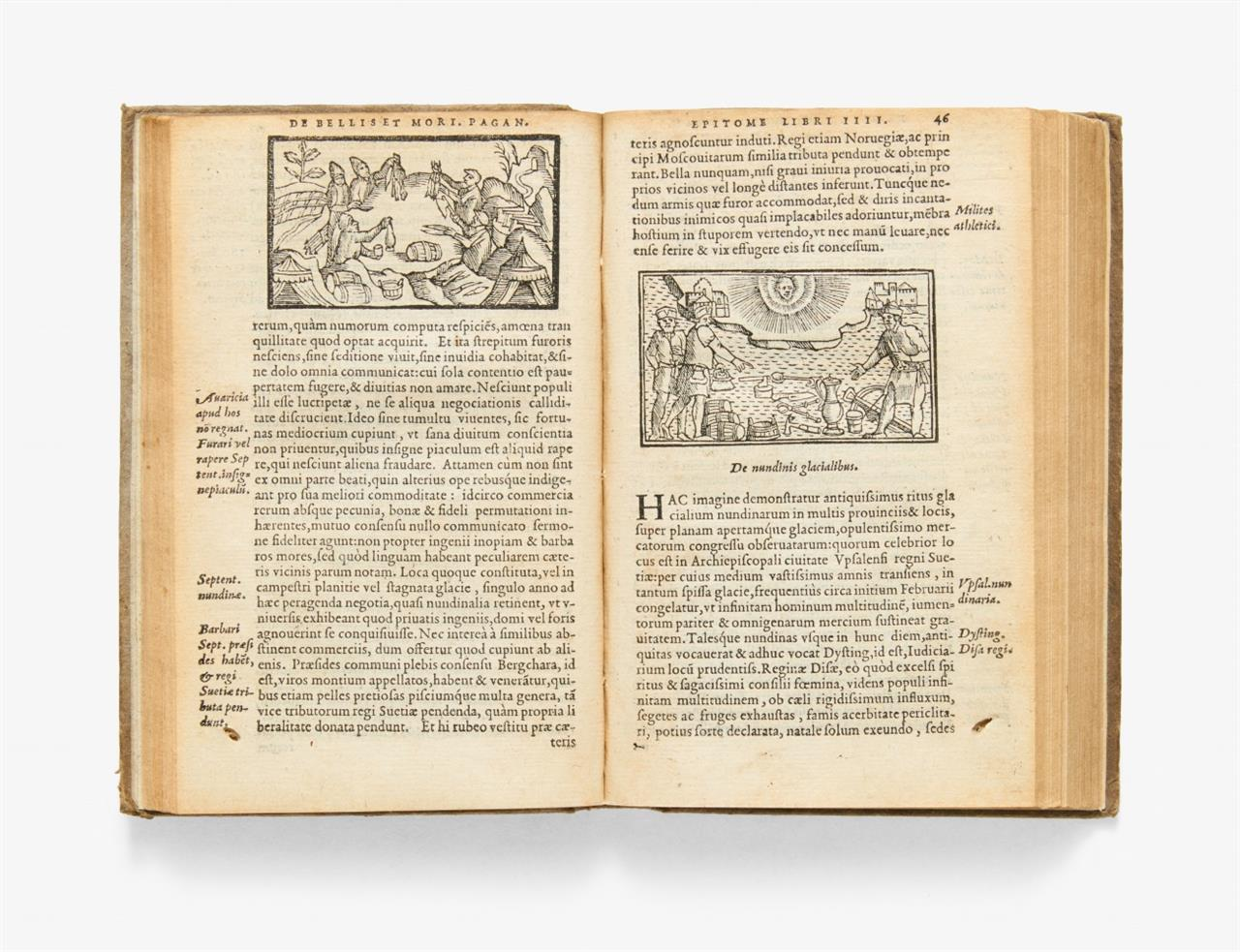 O. Magnus, Historia de Gentibus septentrionalibus. Antwerpen 1558