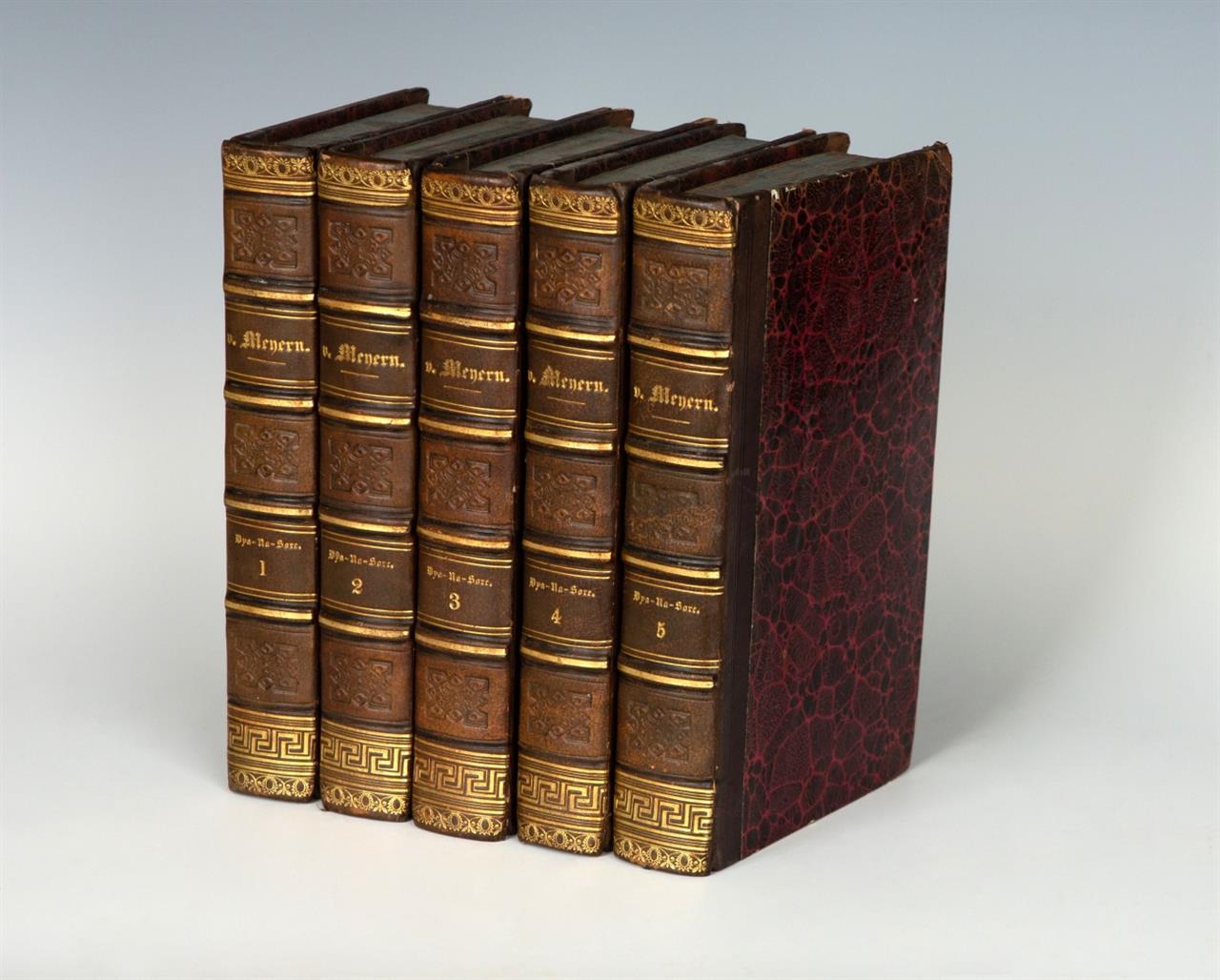 Meyern, W. F. v., Dya-Na-Sore. 5 Bde. Lpz. 1800.