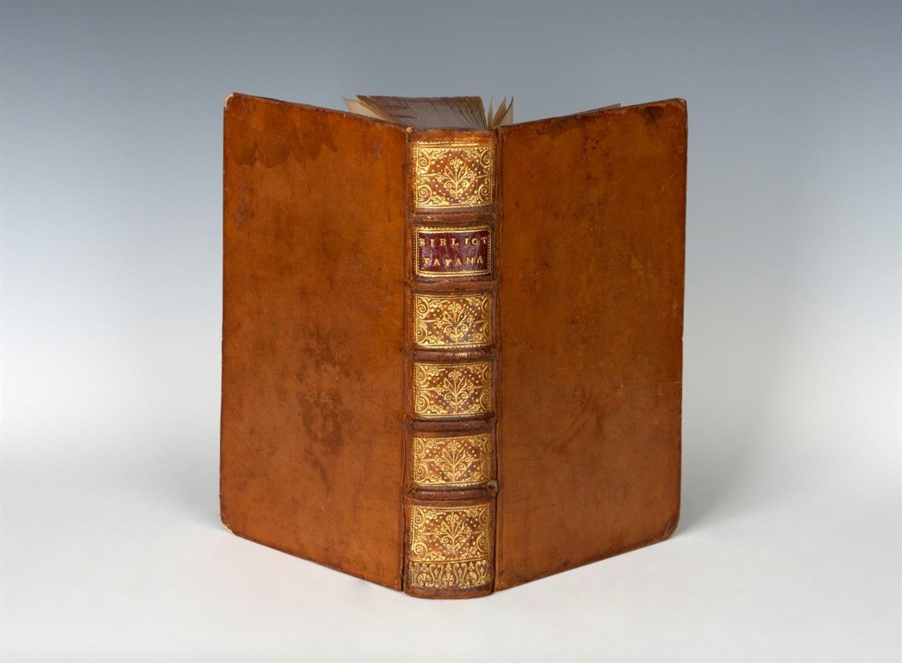 C. H. Du Fay de Cisternay. Bibliotheca Fayana. 1725.