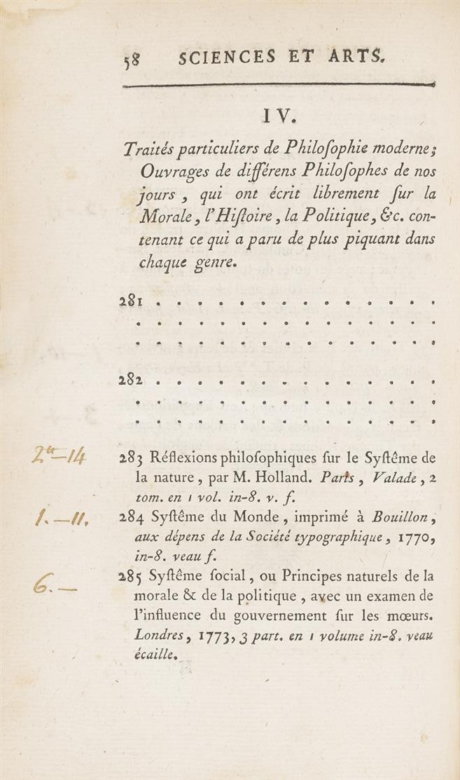Charles Chardin, Catalogue des livres, Paris 1779.