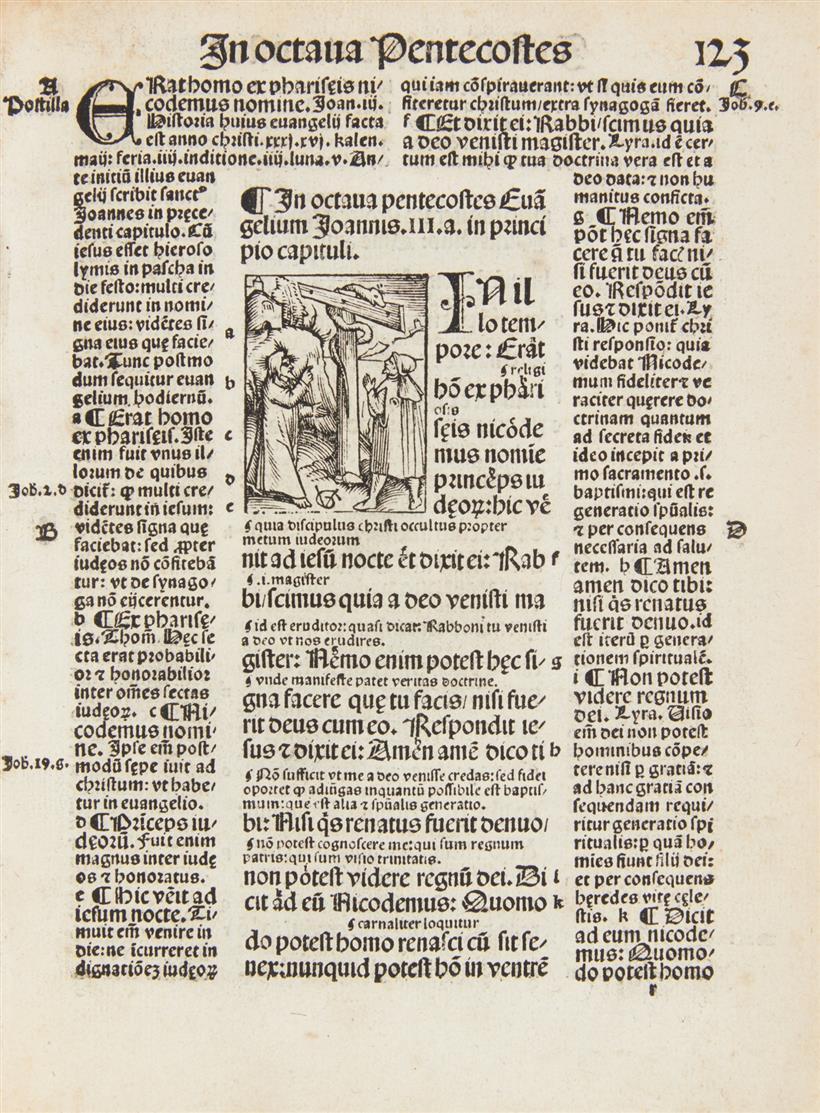 Guilelmus Parisiensis, Postilla super epistolas et evangelia. Basel 1516