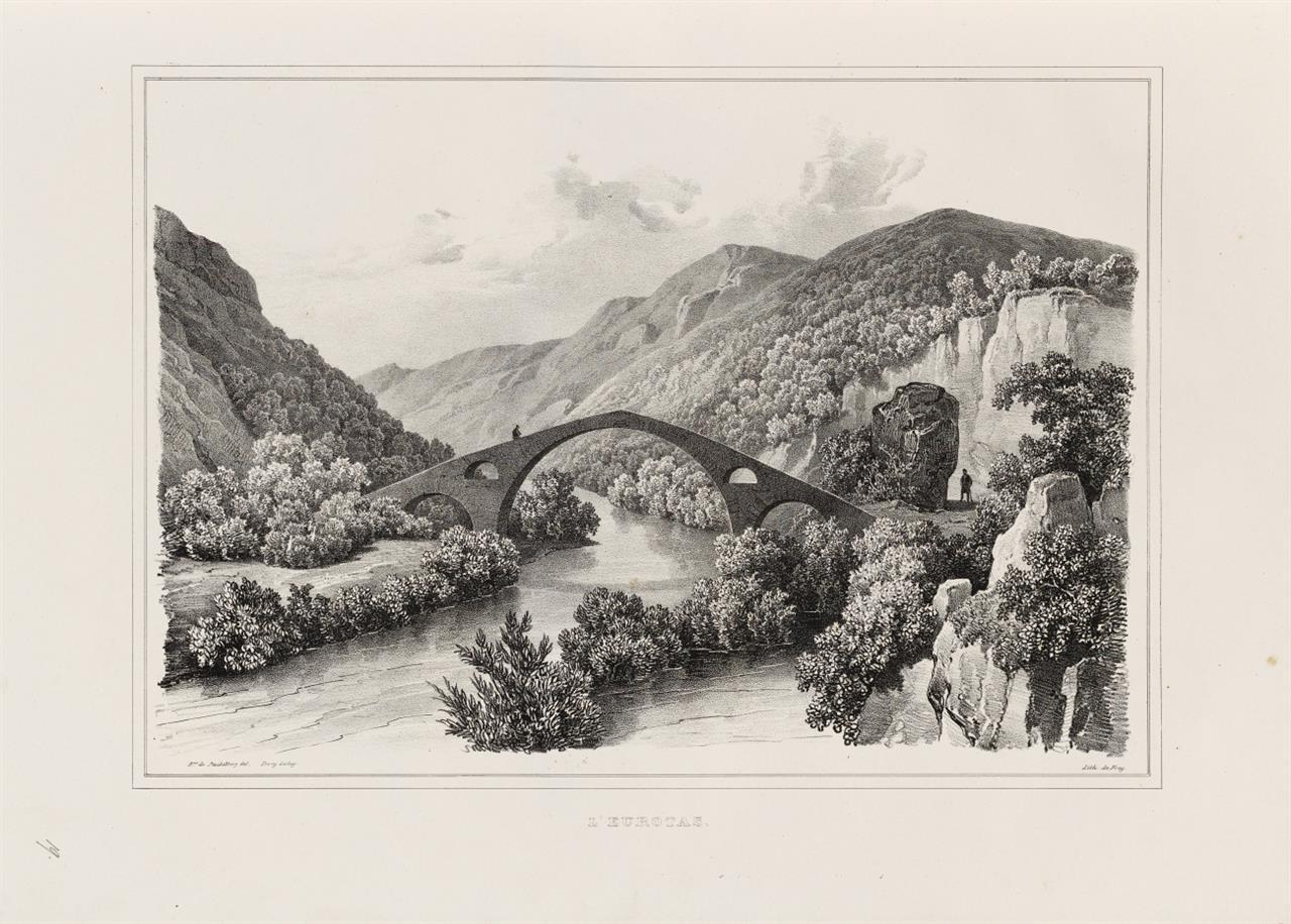 O. M. v. Stackelberg, La Grèce. Vues pittoresques et topographiques. 2 Bde. Paris [1829-]1834.