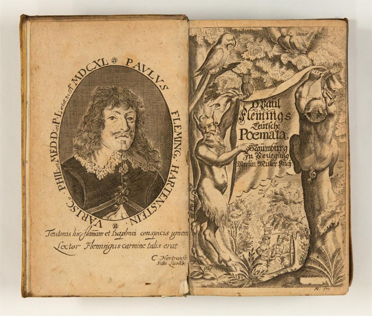 Paul Fleming, Teutsche Poemata. Jena 1666.