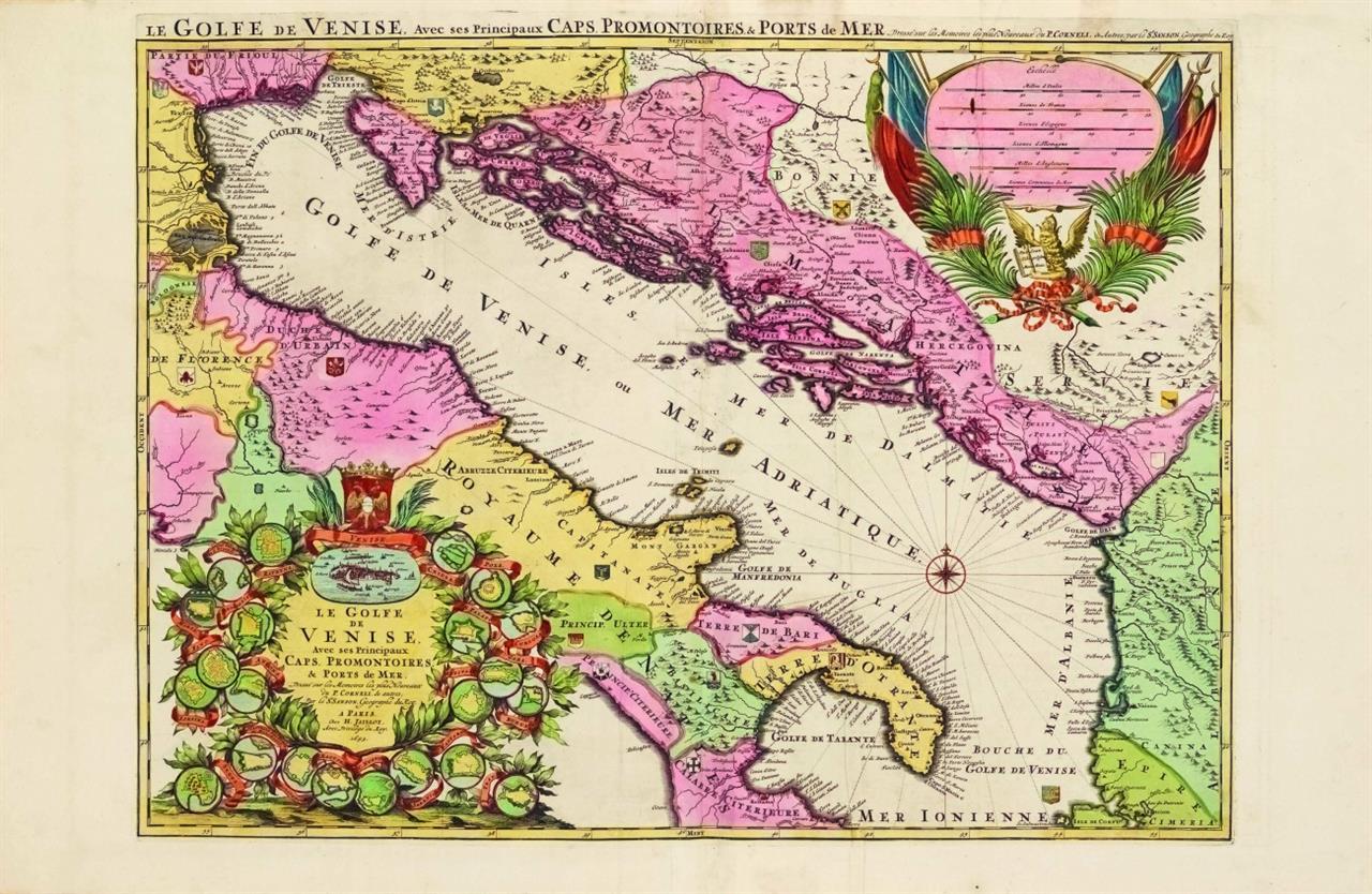 H. Jaillot, Atlas nouveau contenant toutes les parties du monde ... Par le Sr Sanson. Paris (d.i. Amsterdam, Mortier) 1692.