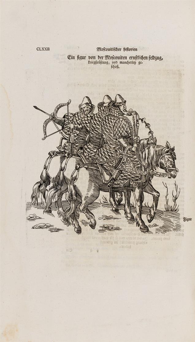 S. v. Herberstein, Moscoviter wunderbare Historien. 1567. St. Petersburg 1795 (-1804).