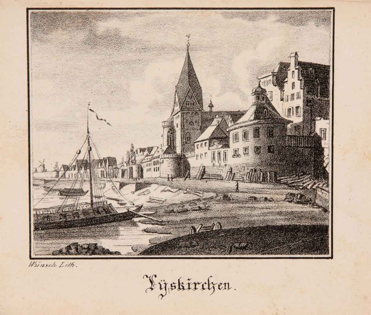 J. P. Weyer, Sammlung von Ansichten in Köln. Köln 1827.