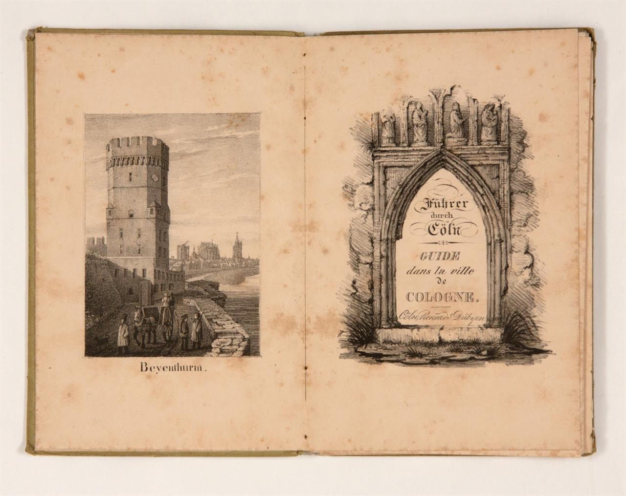 J. E. Vulpius, Führer durch Köln. Köln 1836.
