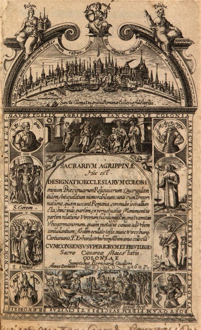 E. Winheim, Sacrarium Agrippinae. Köln 1607.