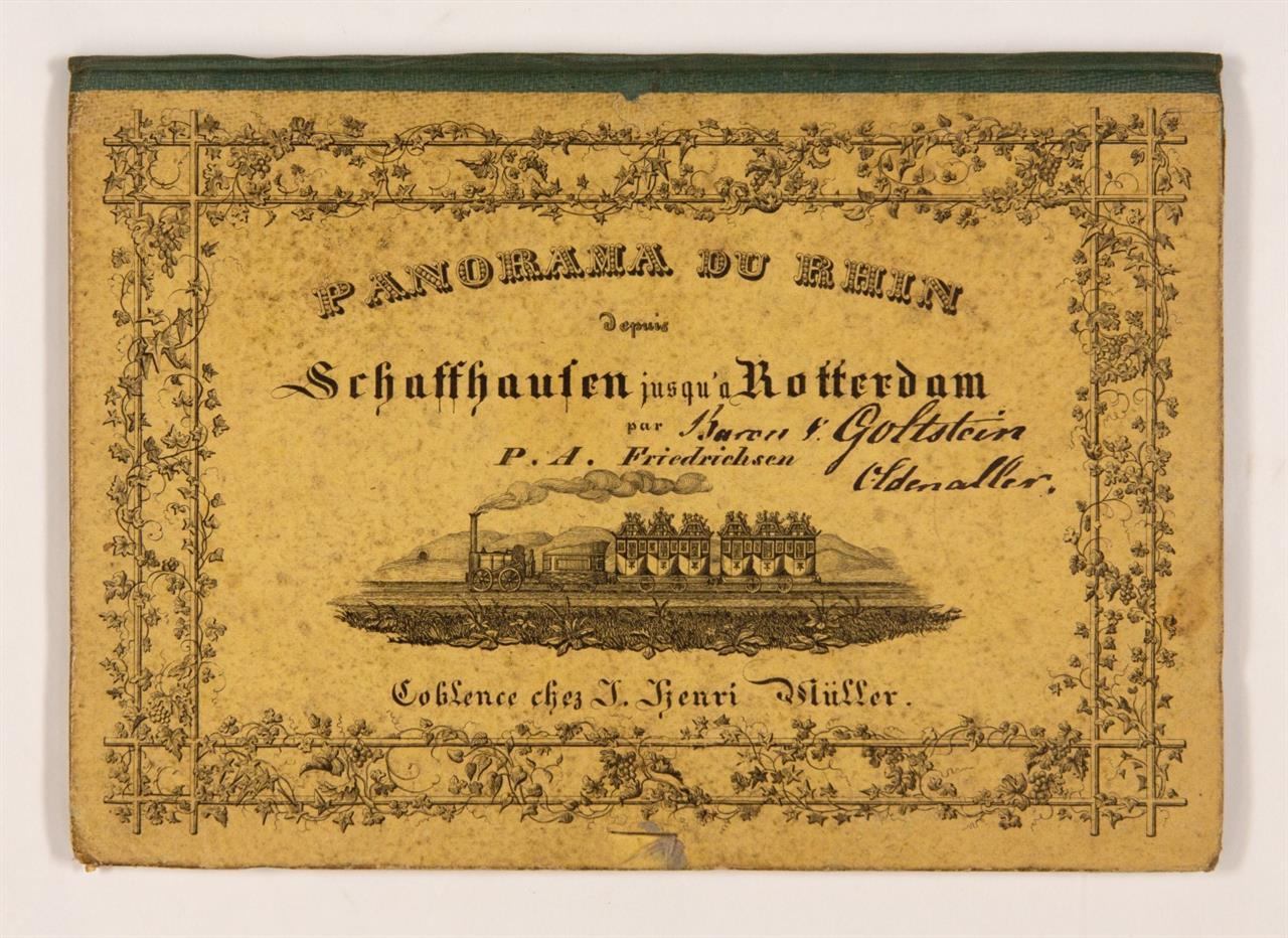 P. A. Friedrichsen, Panorama des Rheins von Schaffhausen bis Rotterdam. Koblenz 1850.