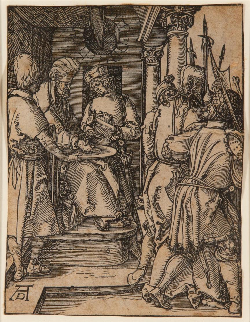 A. Dürer. 6 Blatt Holzschnitte aus der Kleinen Holzschnitt-Passion. Meder 132, 140, 145, 155, 158, 160.