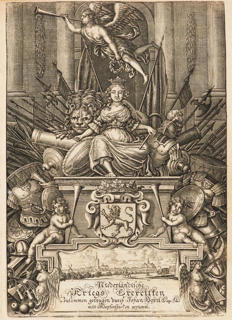 J. Boxel, Anweisung zur Kriegsübung. Den Haag 1675.