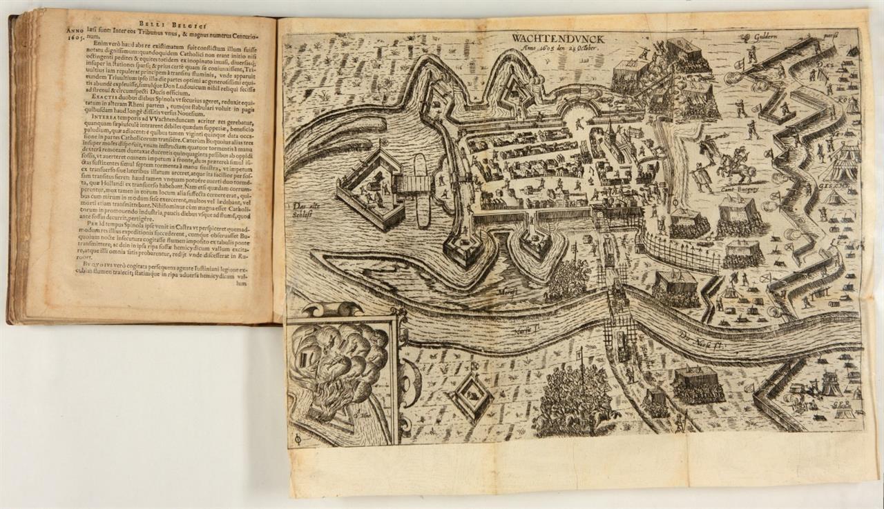 P. Giustiniano, Bellum Belgicum, sive Belgicarum Rerum ... Köln 1611.