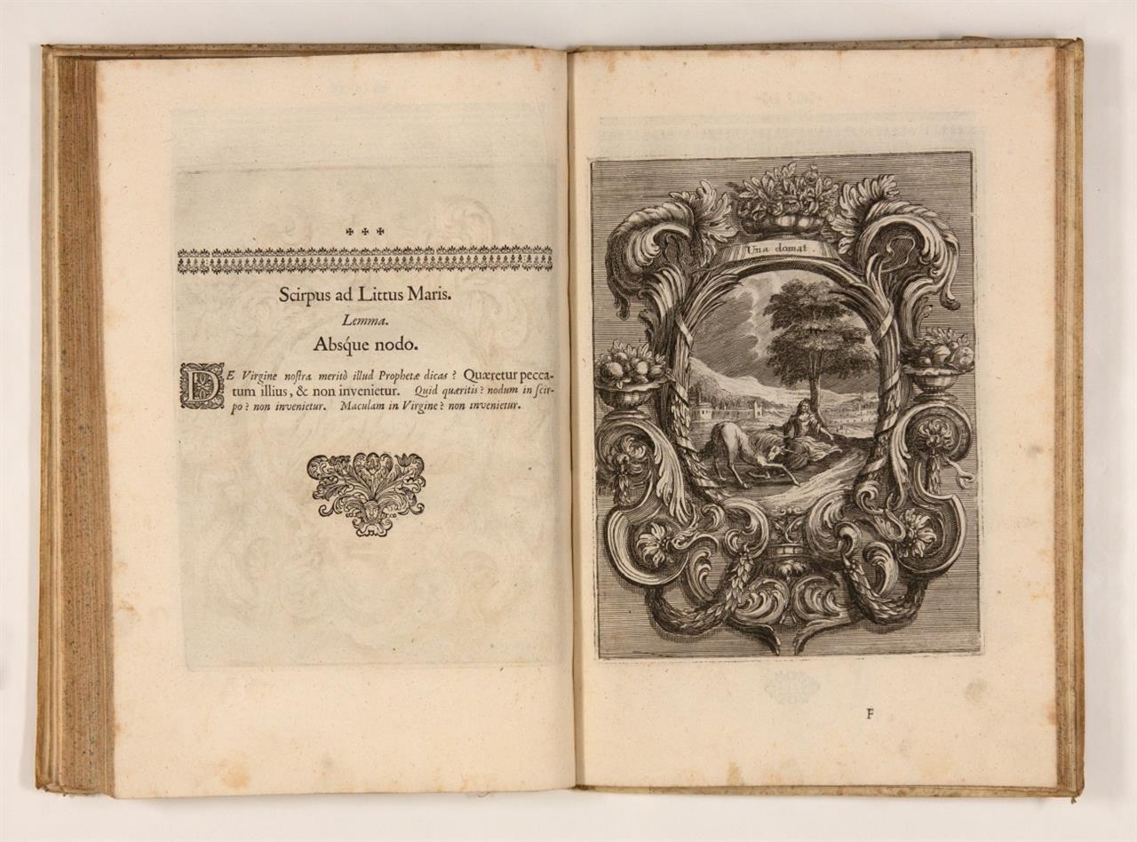 C. Sfondrati, Innocentia vindicata .... 2 Tle. in 1 Bd. St. Gallen 1695.