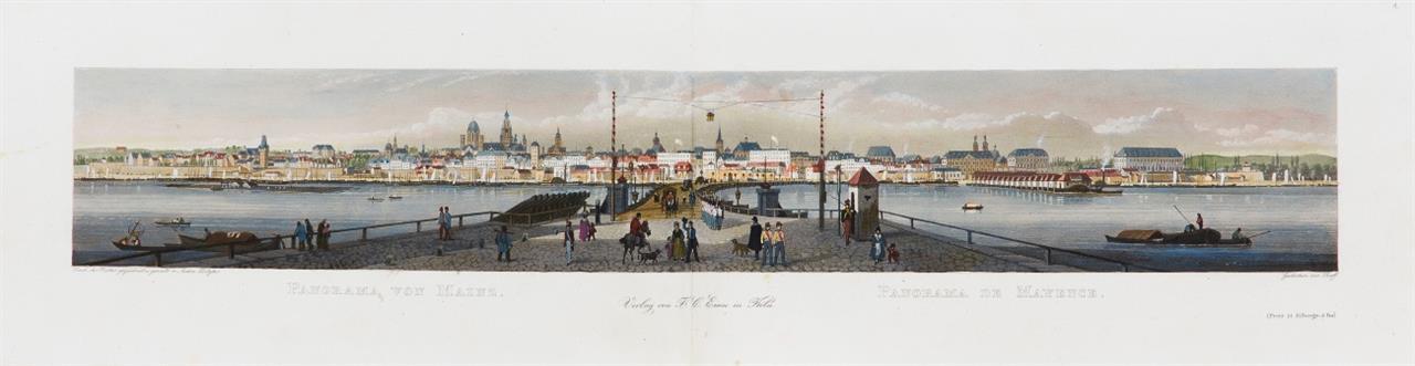 F. C. Eisen, Der Rhein und Umgebung. Köln um 1840.