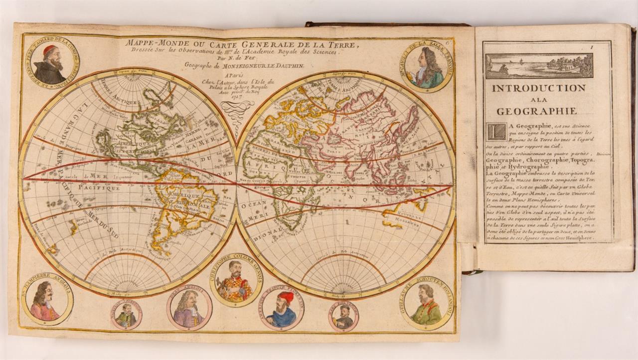 N. de Fer,  Introduction à la géographie. 2. Aufl. Paris 1717