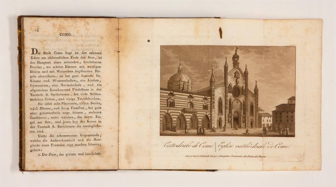 Haller von Königsfelden, Beschreibung der Stadt Como und des Comer-Sees. Como 1823.