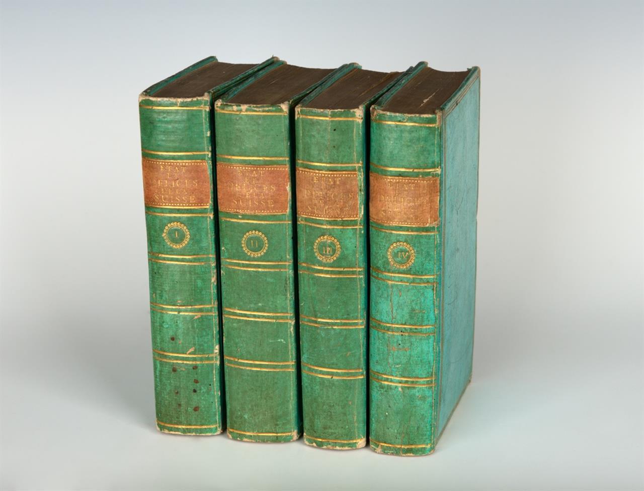 A. Ruchat, État et délices de la Suisse. Nouv. ed. 4 Bde. Basel 1776.