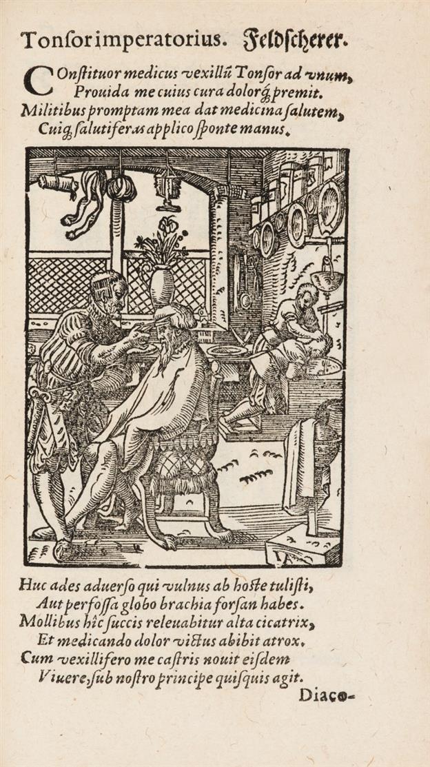 H. Schopper, De omnibus illiberalibus sive mechanicis artibus humani ingenii sagacitate atque industria ... Ffm 1574.
