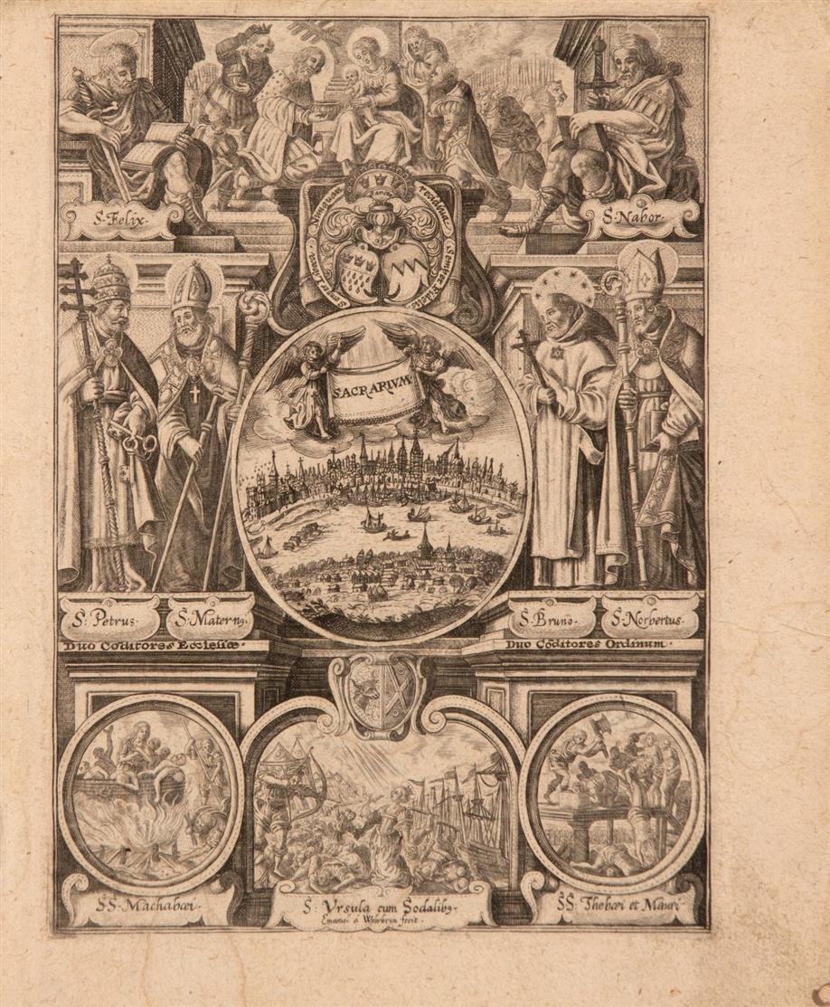 W. Baudartius, Les Guerres de Nassau. 2 Bde. in 1. Amsterdam 1616