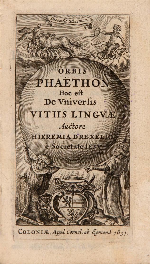 J. Drexel, Orbis Phaëton. Köln 1631.