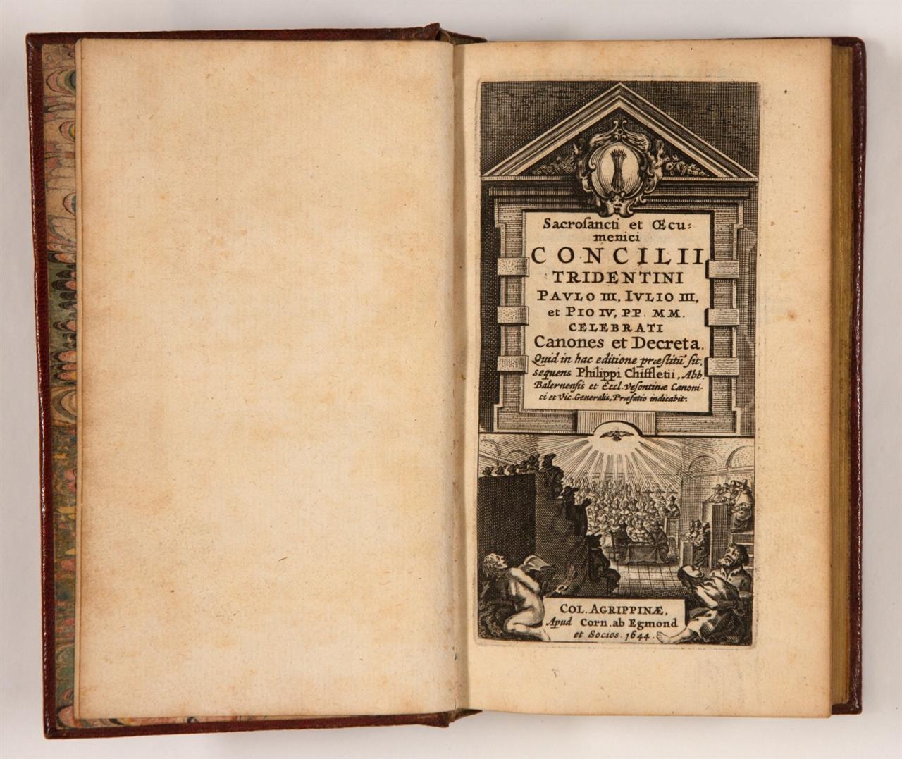 P. Chifflet, Sacrosancti et oecumenici concilii Tridentini ... Köln 1644.