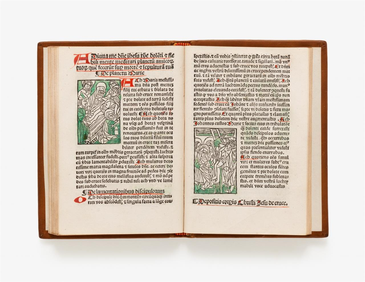 Bertholdus von Freiburg, Horologium devotionis. Köln um 1503.