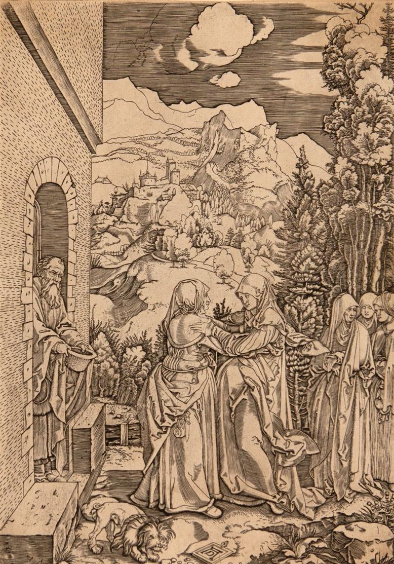 Marcantonio Raimondi nach Albrecht Dürer. Das Marienleben. 17 Blatt Kupferstiche. Bartsch 621-637.