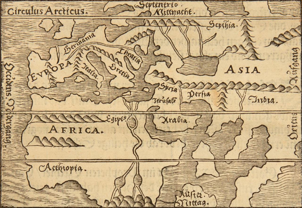 A. Reißner, Ierusalem. Tle. I u. II in 1 Bd. Ffm 1563. - Angeb.: B. Platina, Von der Bäpst und Keiser leben. Straßburg 1546.
