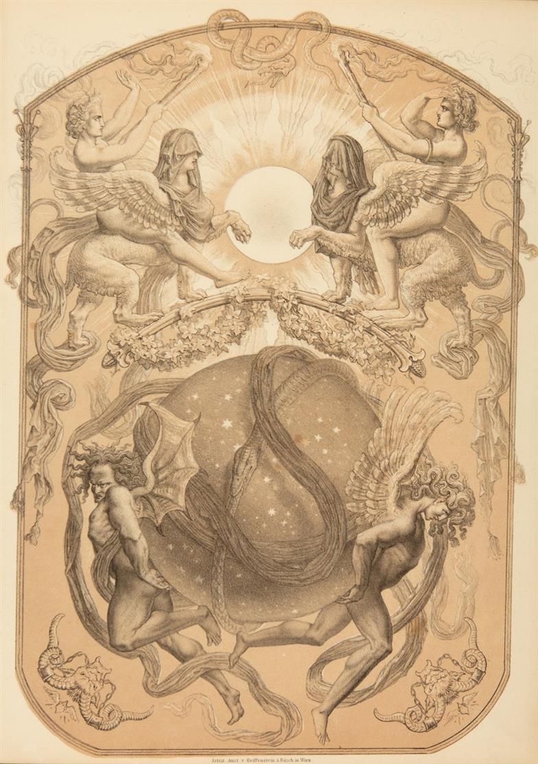 J. D. Georgens u. J. M. v. Gayett, Sternbilder-Buch. Wien 1858.