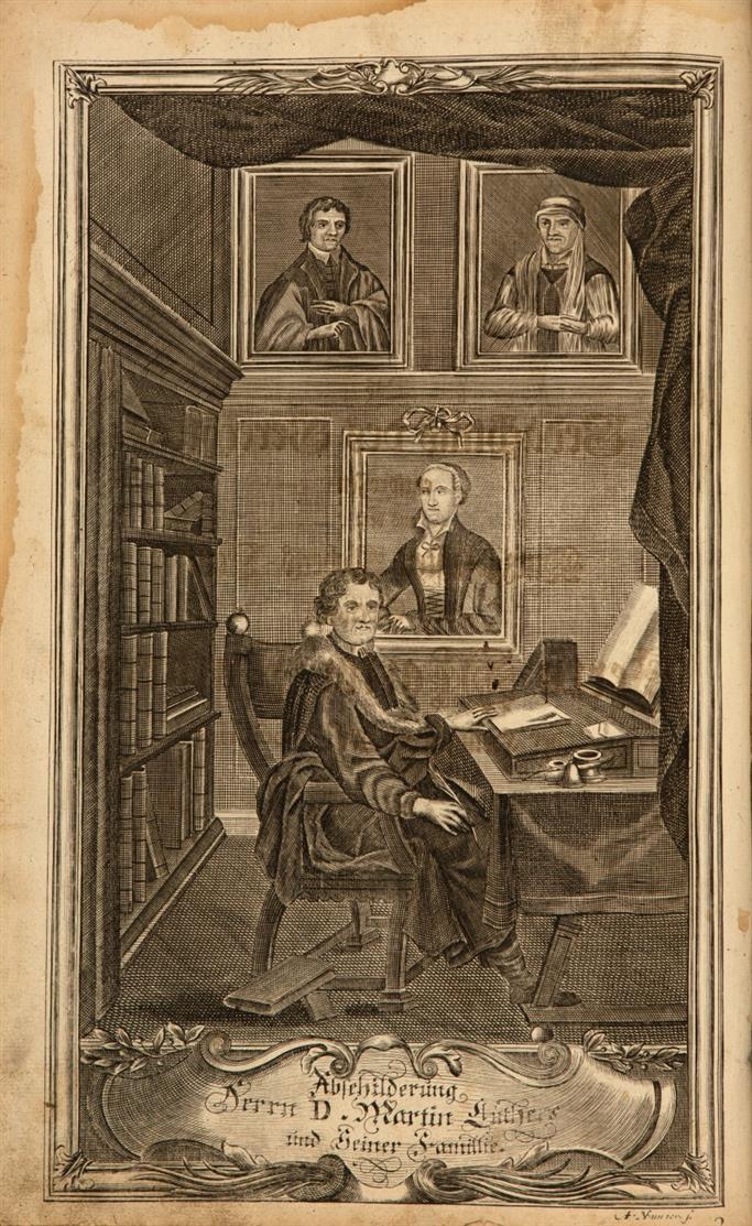 Biblia, das ist: Die gantze Heilige Schrifft, des Alten und Neuen Testaments. Samt Vorrede J. M. Dillherns. Nürnberg 1733.