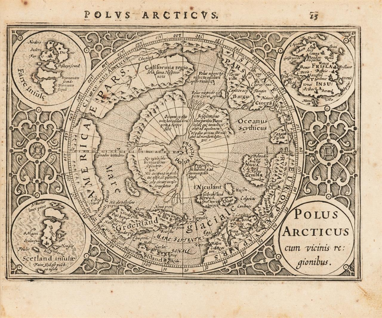 G. Mercator, Atlas Minor à I. Hondio auctus atque illustratus. Arnheim 1621.