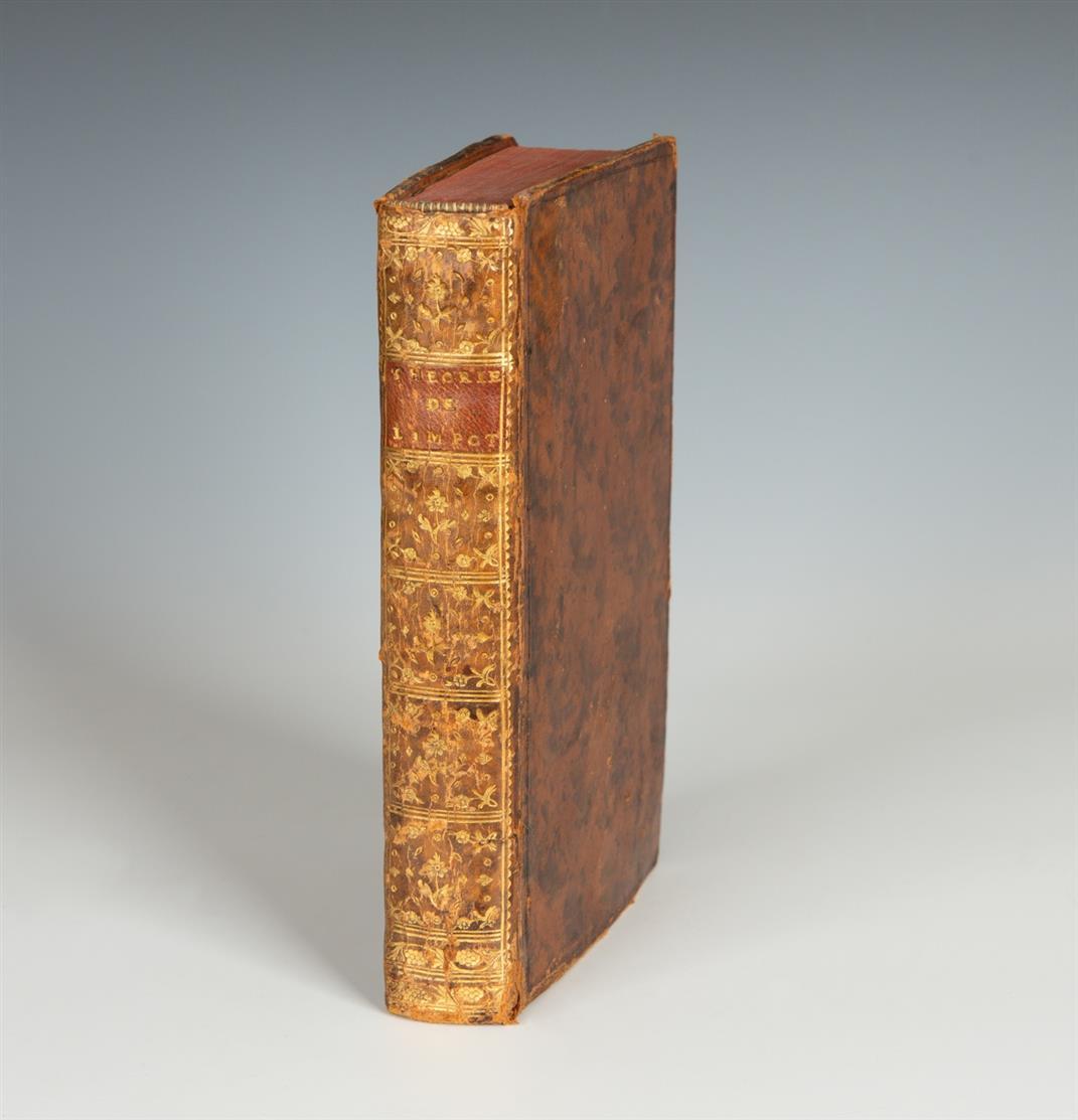 V. Riquetti de Mirabeau, Théorie de l'impôt. o.O. 1761.