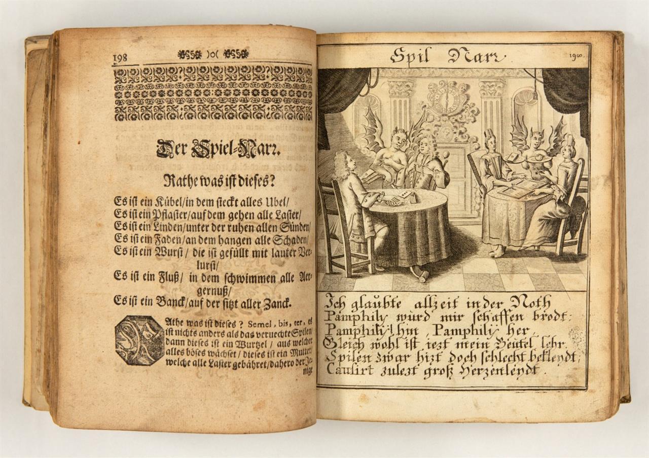 A. J. Conlin (pseud.: Loncin von Gominn), Der christliche Welt-Weise .... Bde. 1 u. 2  (v. 5) in 1 Bd. Augsburg 1706-07.