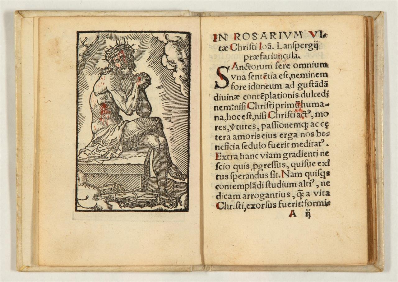 Exercitium vitae & passionis Christi. Köln, P. Buscius, 1530