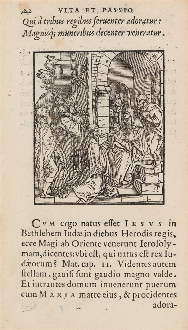 Contemplatio totius vitae et passionis Domini Nostri Iesu Christi. Venedig 1557.